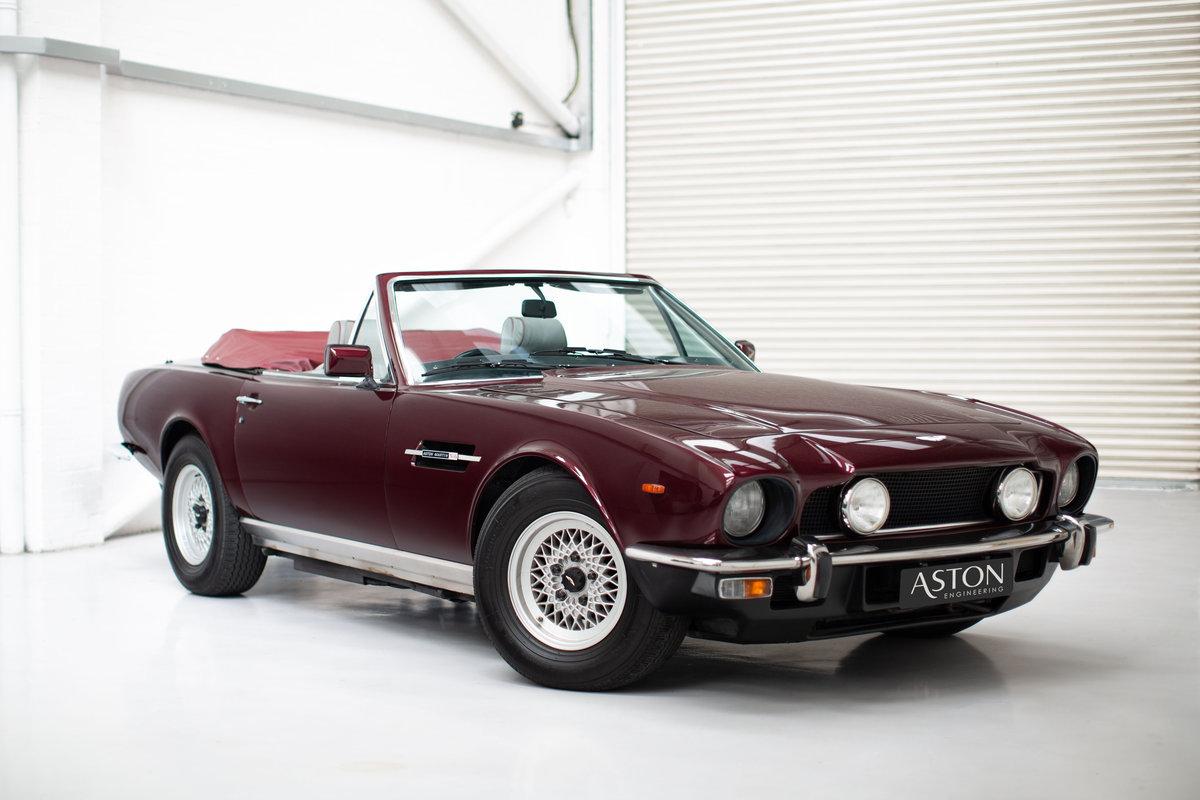 1986 Aston Martin V8 Volante EFI SOLD (picture 1 of 6)