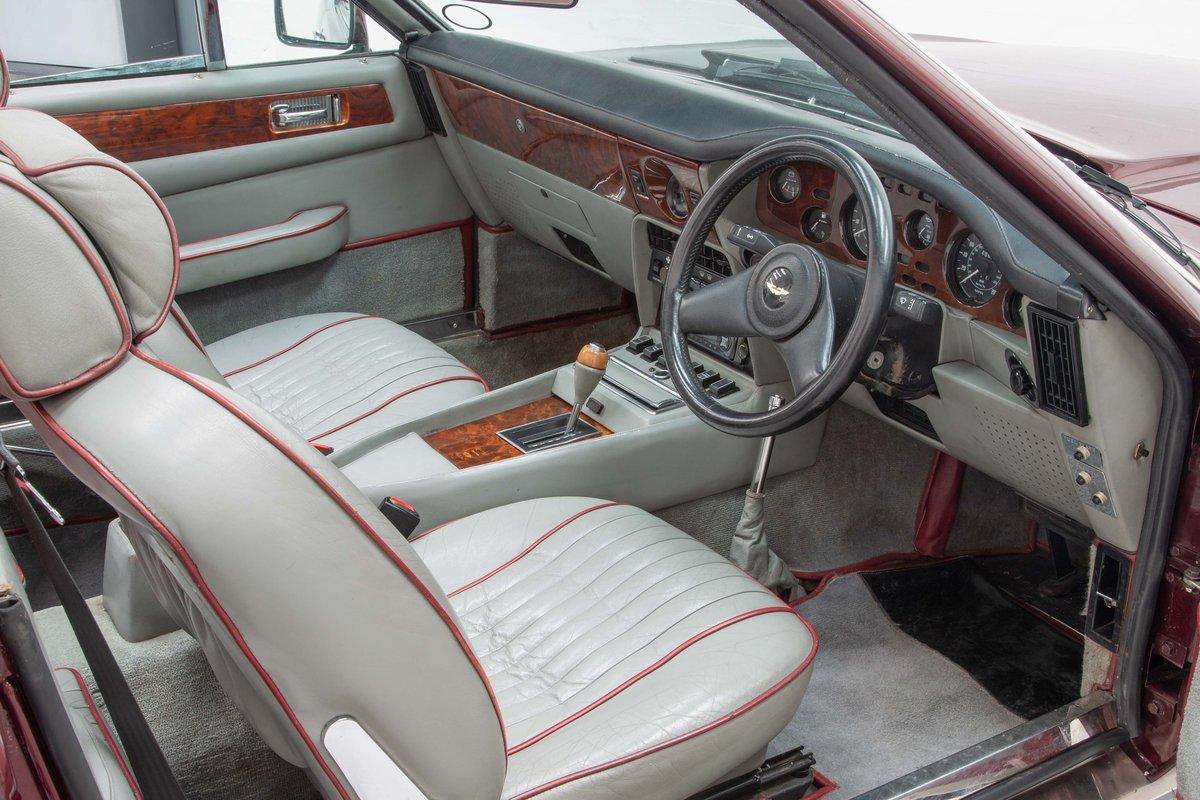 1986 Aston Martin V8 Volante EFI SOLD (picture 5 of 6)