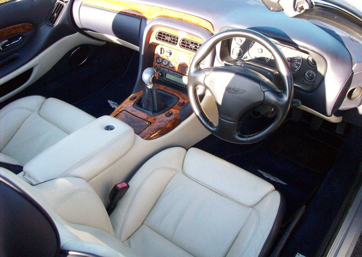 2001 Aston Martin DB7 Vantage Volante (Manual) For Sale (picture 5 of 6)