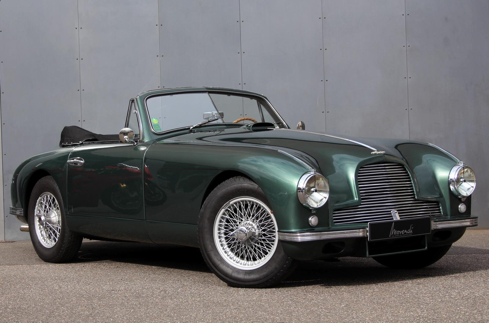 1953 Aston Martin DB2 DHC Vantage LHD For Sale (picture 1 of 6)