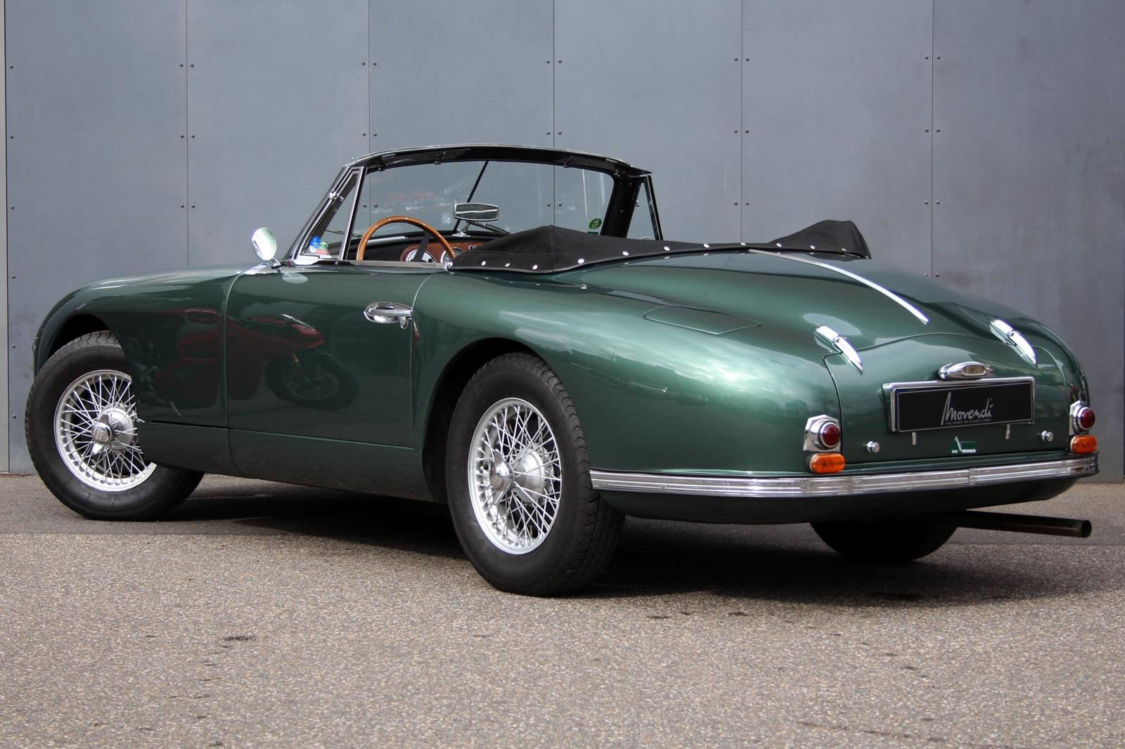 1953 Aston Martin DB2 DHC Vantage LHD For Sale (picture 2 of 6)