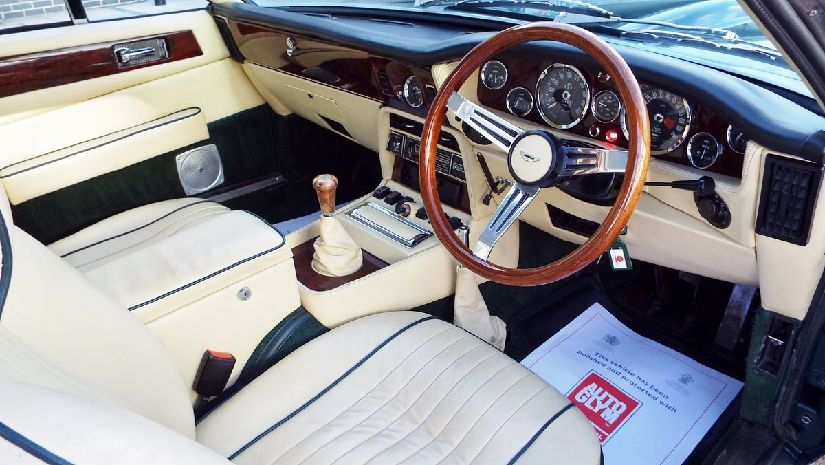 1974 Aston Martin V8 Series III Manual For Sale (picture 3 of 6)