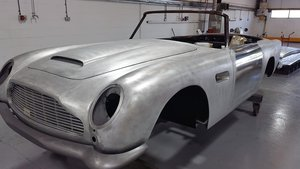 1964 Aston Martin DB5 Convertible undergoing full restoration