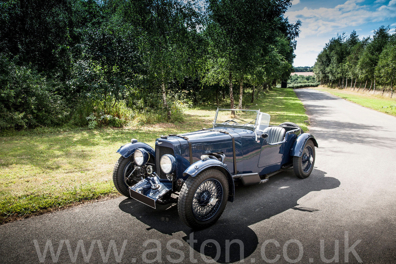 1935 Aston Martin Tourer 1 1/2 Litre SOLD (picture 1 of 6)