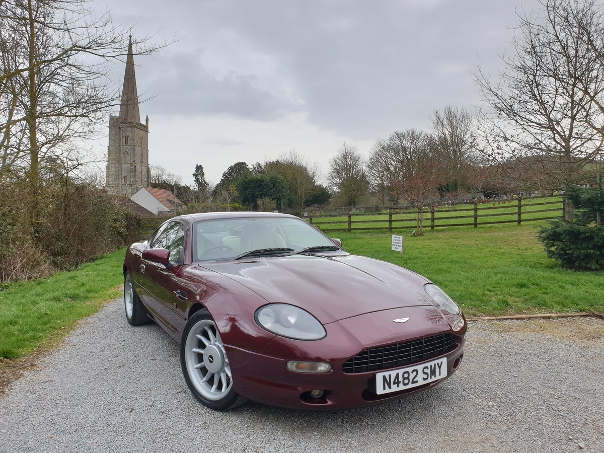 1995 Aston Martin Straight Six Supercharged Manual  For Sale (picture 1 of 6)