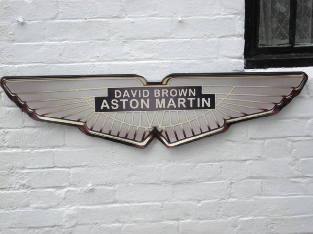 Large Aston Martin Repro wall plaque For Sale (picture 2 of 3)