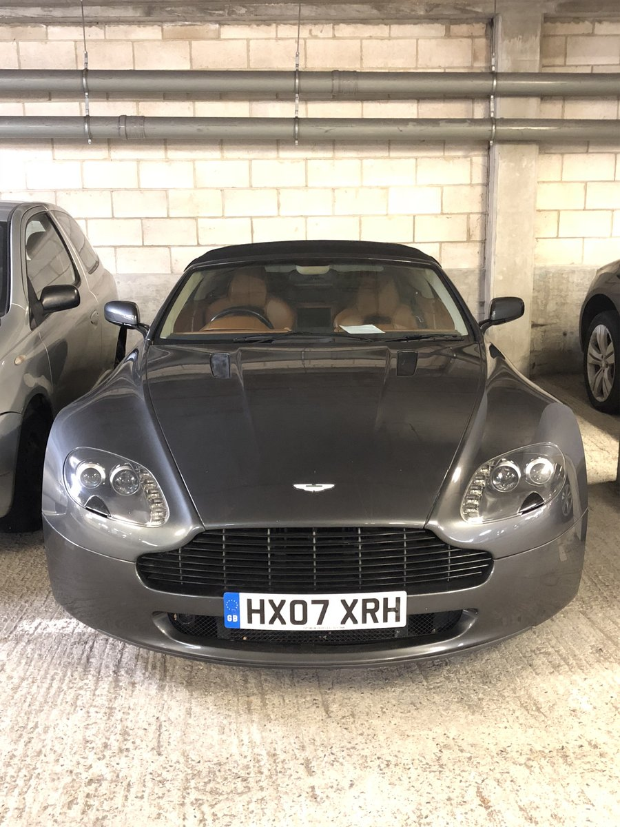 2007 Aston Martin Vantage V8 Convertible For Sale (picture 1 of 6)
