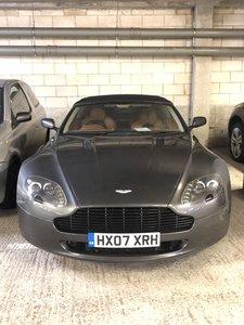 2007 Aston Martin Vantage V8 Convertible