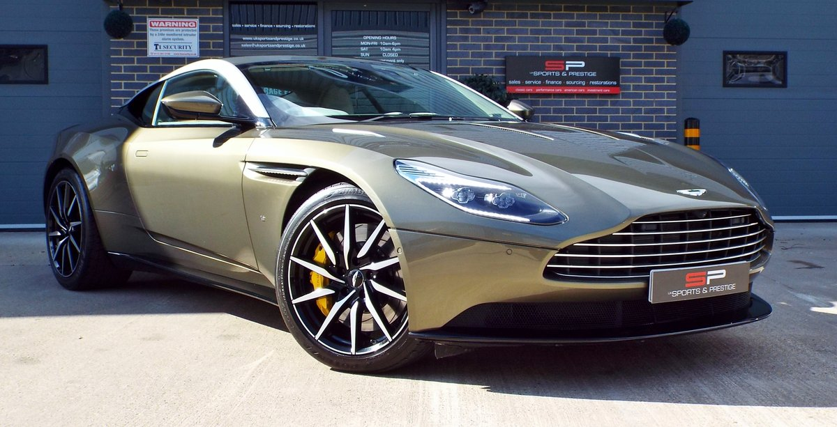 2017 Aston Martin DB11 5.2 V12 Launch Edition - Arden Green For Sale (picture 1 of 6)