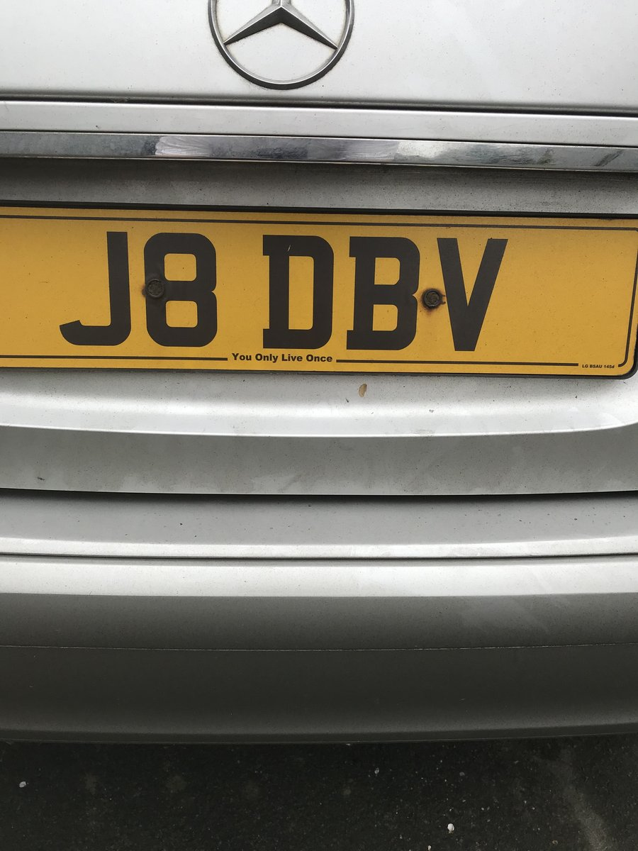 2003 007 number plate For Sale (picture 1 of 1)