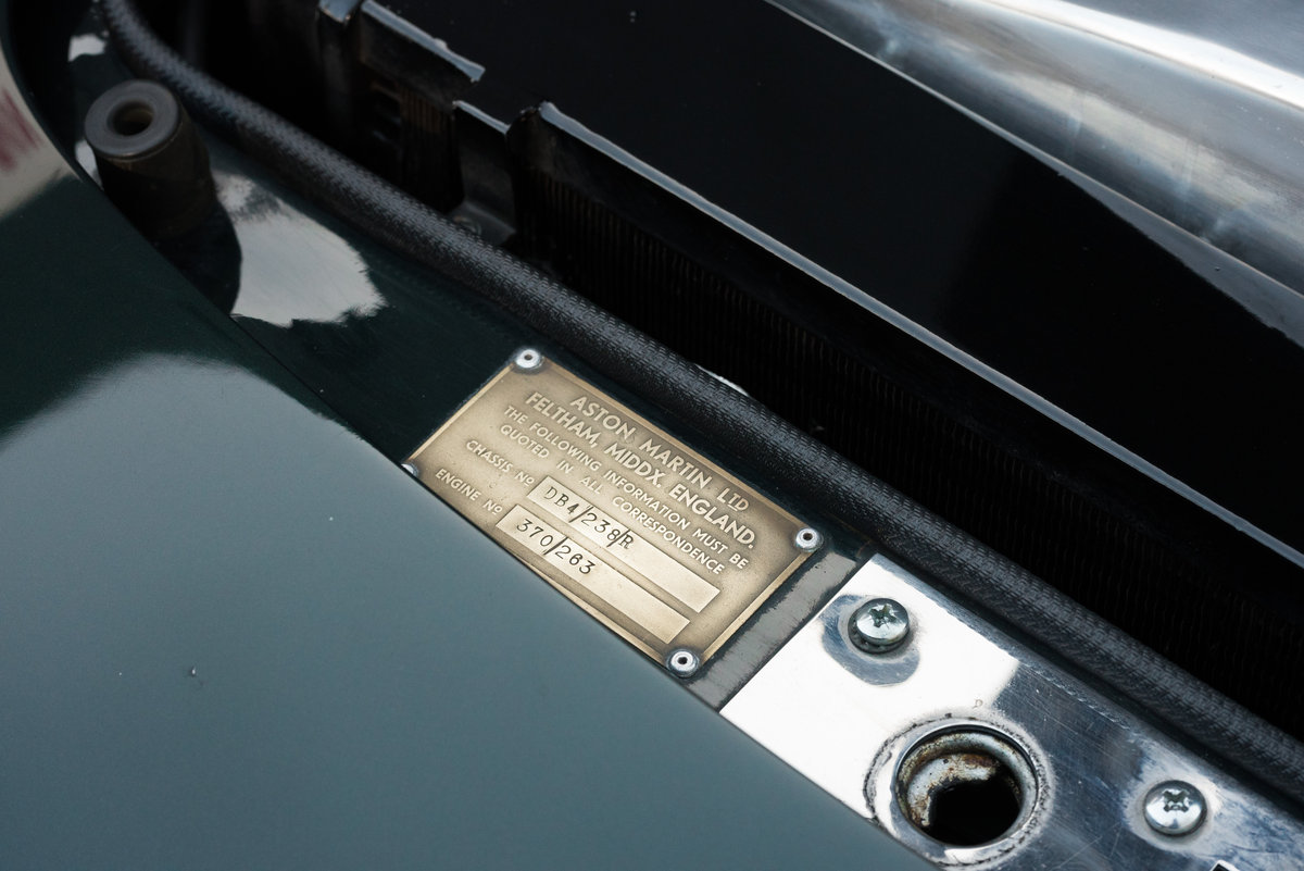 1960 Aston Martin DB4 Series I For Sale (picture 4 of 6)