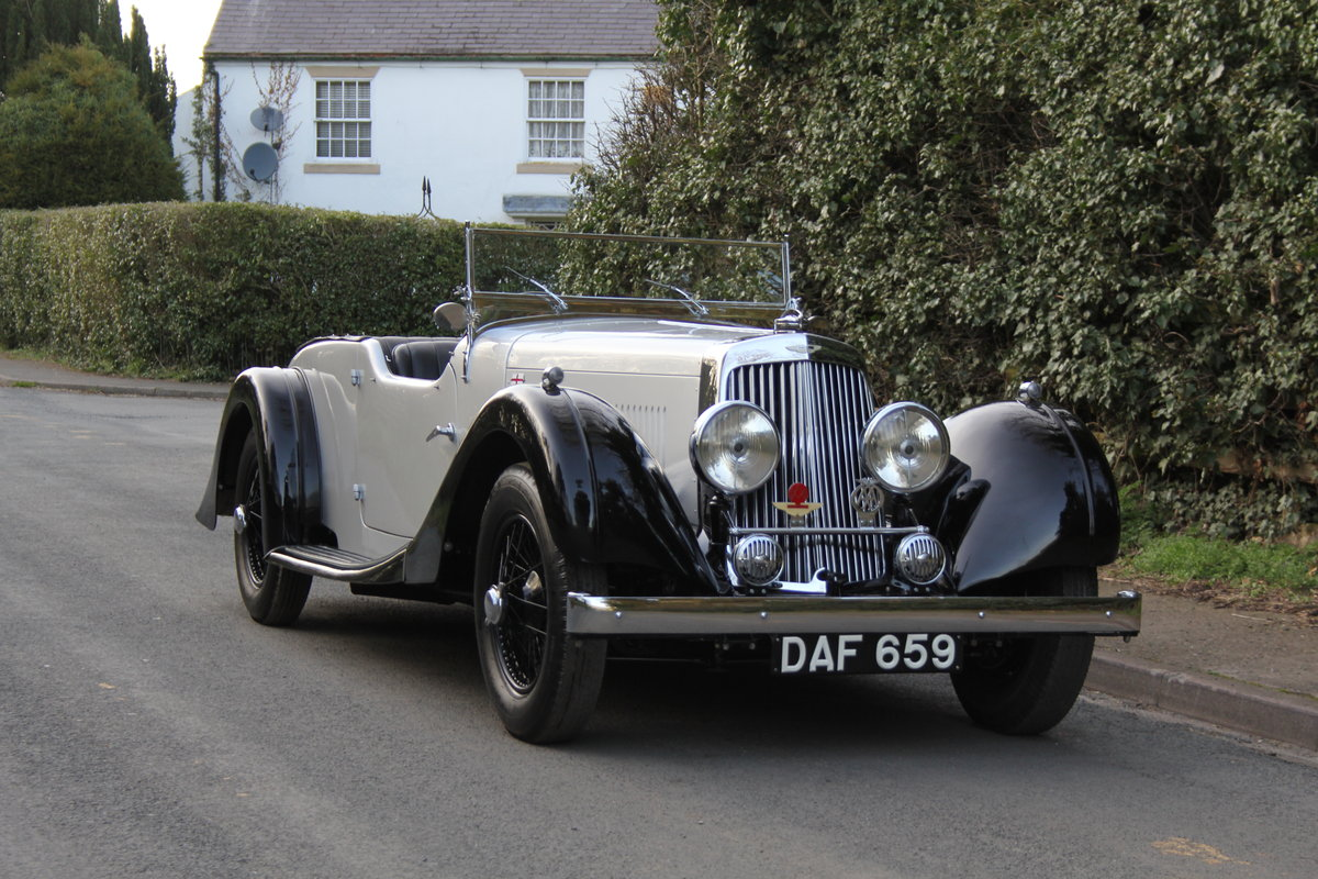 1937 Aston Martin 15/98 Tourer - One of 24, beautifully restored SOLD (picture 1 of 12)