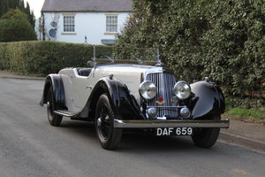 1937 Aston Martin 15/98 Tourer - One of 24, beautifully restored For Sale
