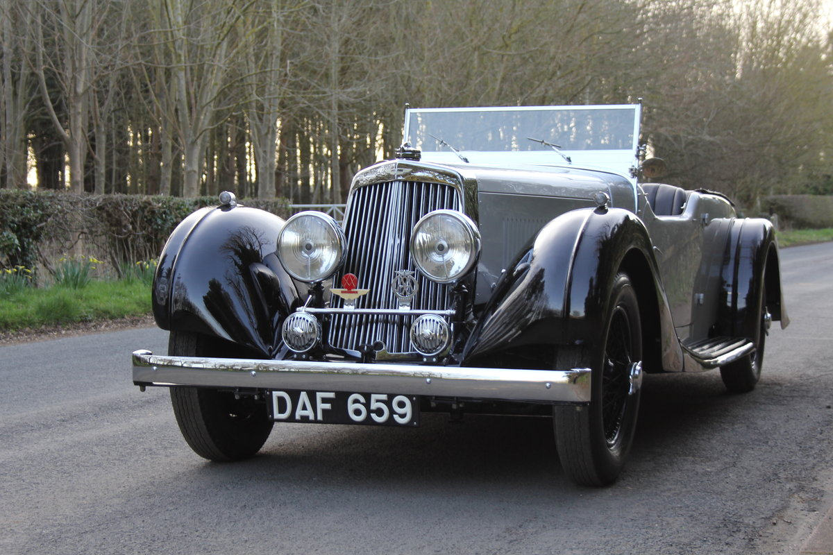 1937 Aston Martin 15/98 Tourer - One of 24, beautifully restored SOLD (picture 3 of 12)
