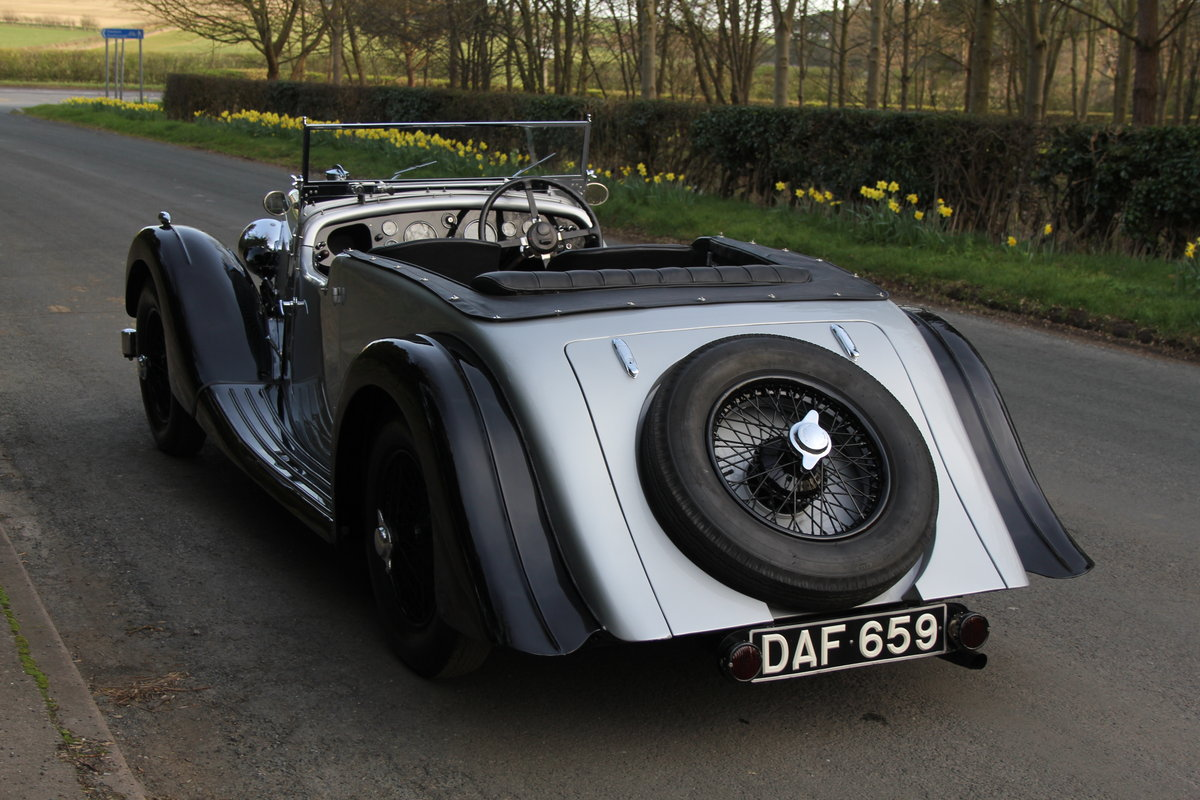 1937 Aston Martin 15/98 Tourer - One of 24, beautifully restored SOLD (picture 4 of 12)