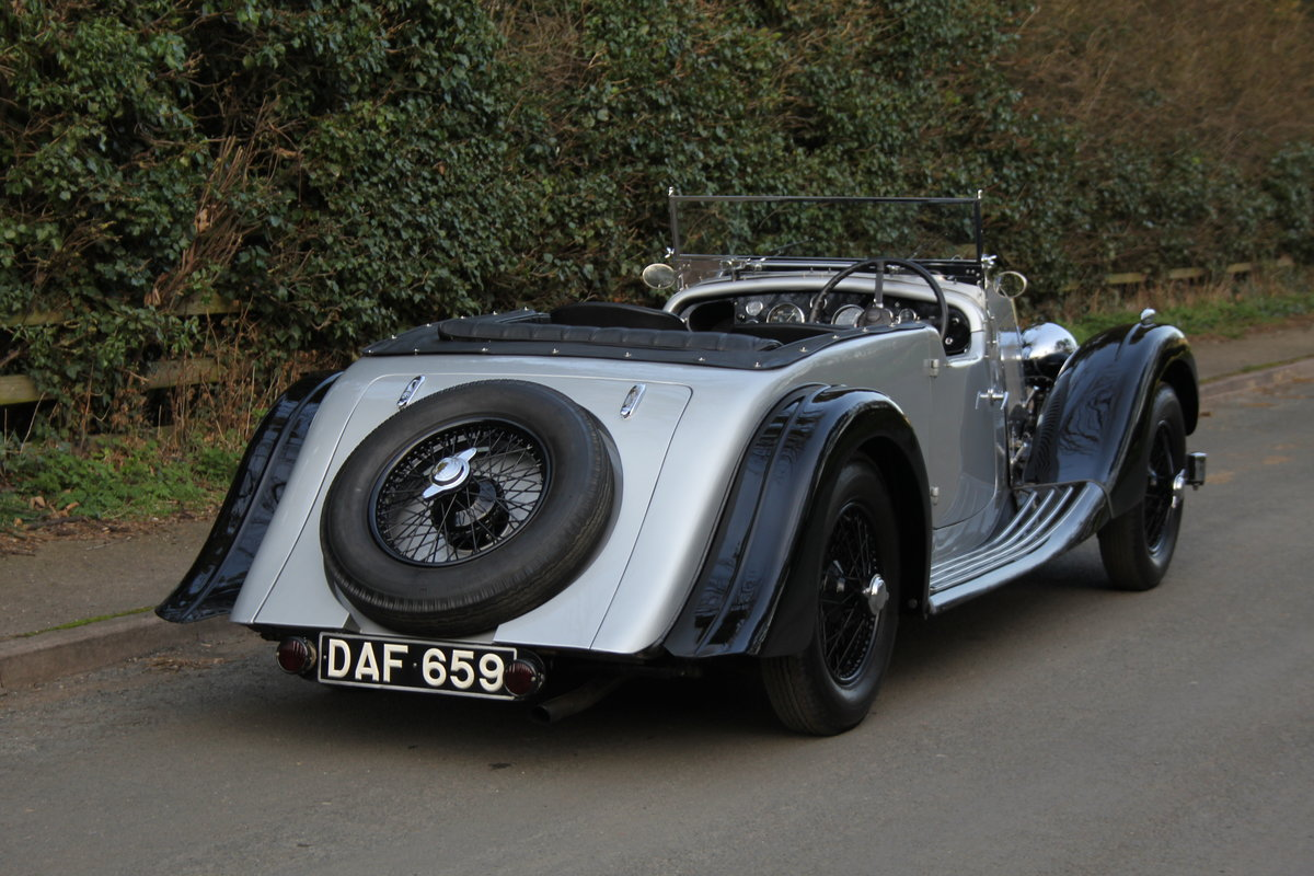 1937 Aston Martin 15/98 Tourer - One of 24, beautifully restored SOLD (picture 6 of 12)