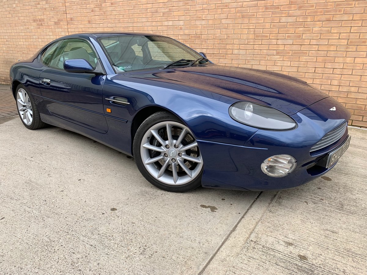 2001 DB7 V12 VANTAGE COUPE MANUAL For Sale (picture 1 of 6)