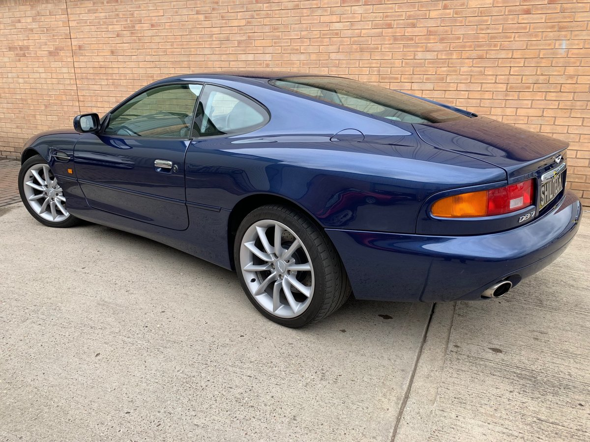 2001 DB7 V12 VANTAGE COUPE MANUAL For Sale (picture 2 of 6)