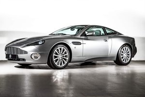 2002 Aston Martin Vanquish Ultra Low Miles LHD  For Sale