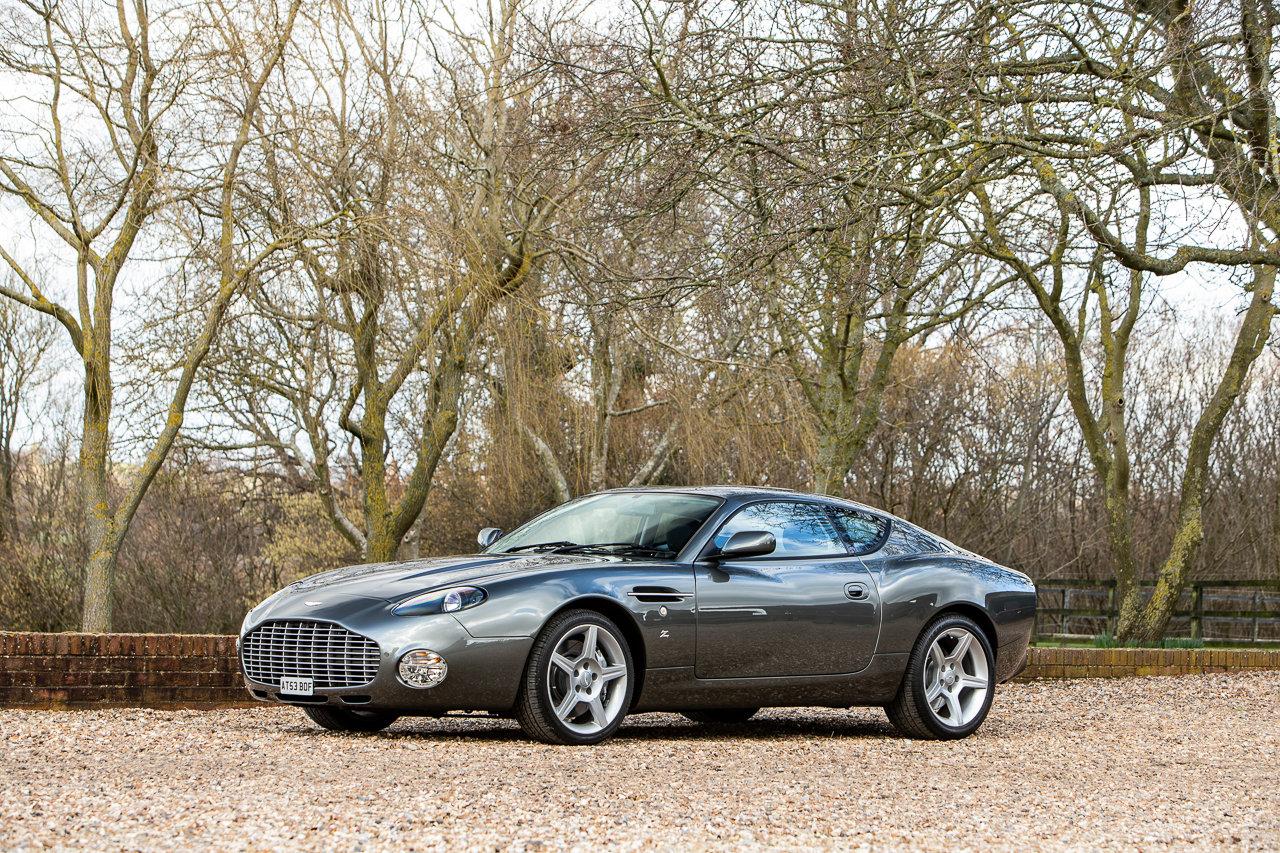 2004 Aston Martin DB7 Zagato For Sale (picture 1 of 6)