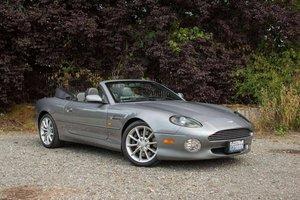 2002 Aston Martin DB7 Vantage Volante = Rare + Grey $47.9k