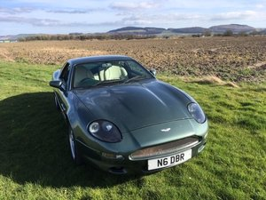 1996 Aston Martin DB7 Auto at Morris Leslie Auction 25th May For Sale by Auction