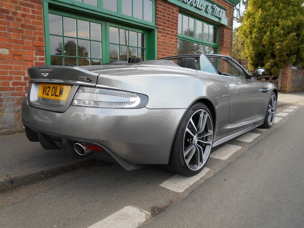 2010 Aston Martin DBS Volante Touchtronic Convertible  For Sale (picture 3 of 4)