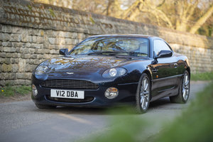 1999 Aston Martin DB7 Vantage - Rare Manual - on The Market SOLD by Auction