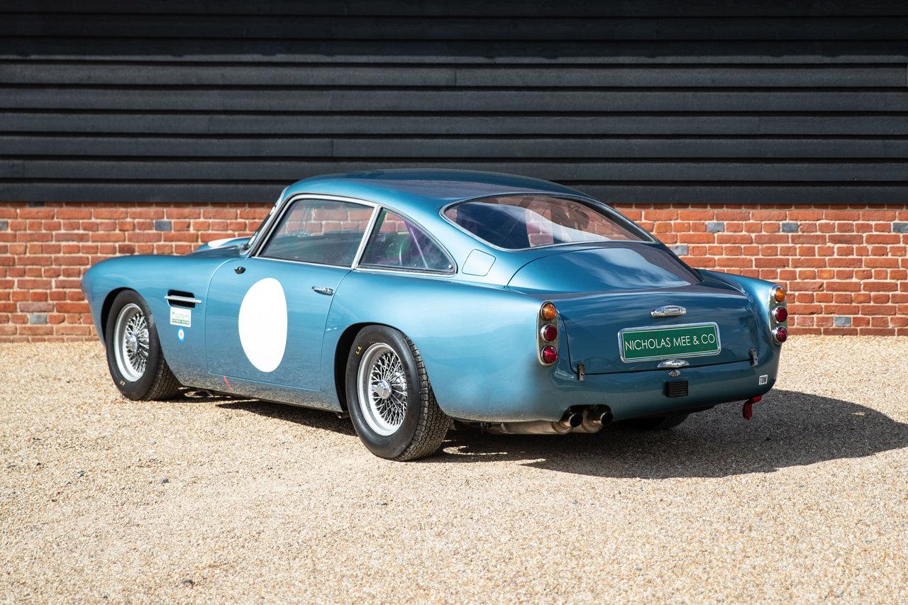 1961 Aston Martin DB4 FIA Race Car For Sale (picture 3 of 6)