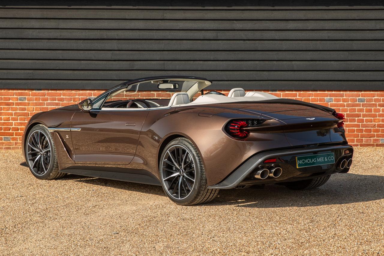 2018 Aston Martin Vanquish Zagato Volante For Sale (picture 3 of 6)