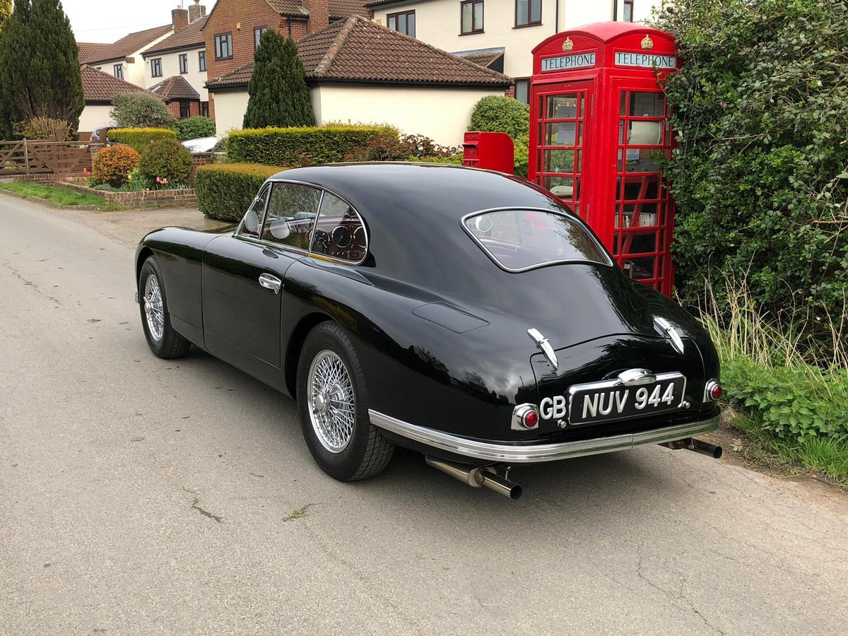 1953 Aston Martin DB2 Vantage, RHD FIVA outstanding car FVIA For Sale (picture 2 of 6)