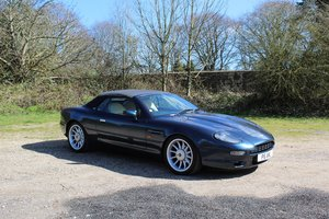 1997 Blue Aston Martin DB7 Volante For Sale