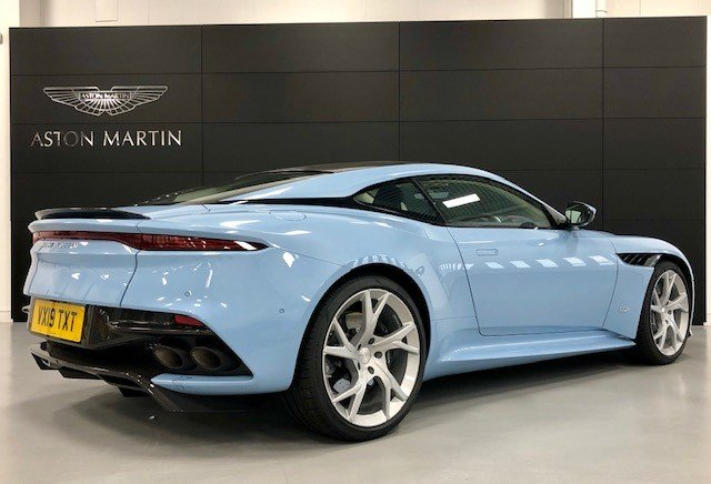 2019 Aston Martin DBS Superleggera 5.3 V12 Auto (19) Reg - RHD For Sale (picture 3 of 6)