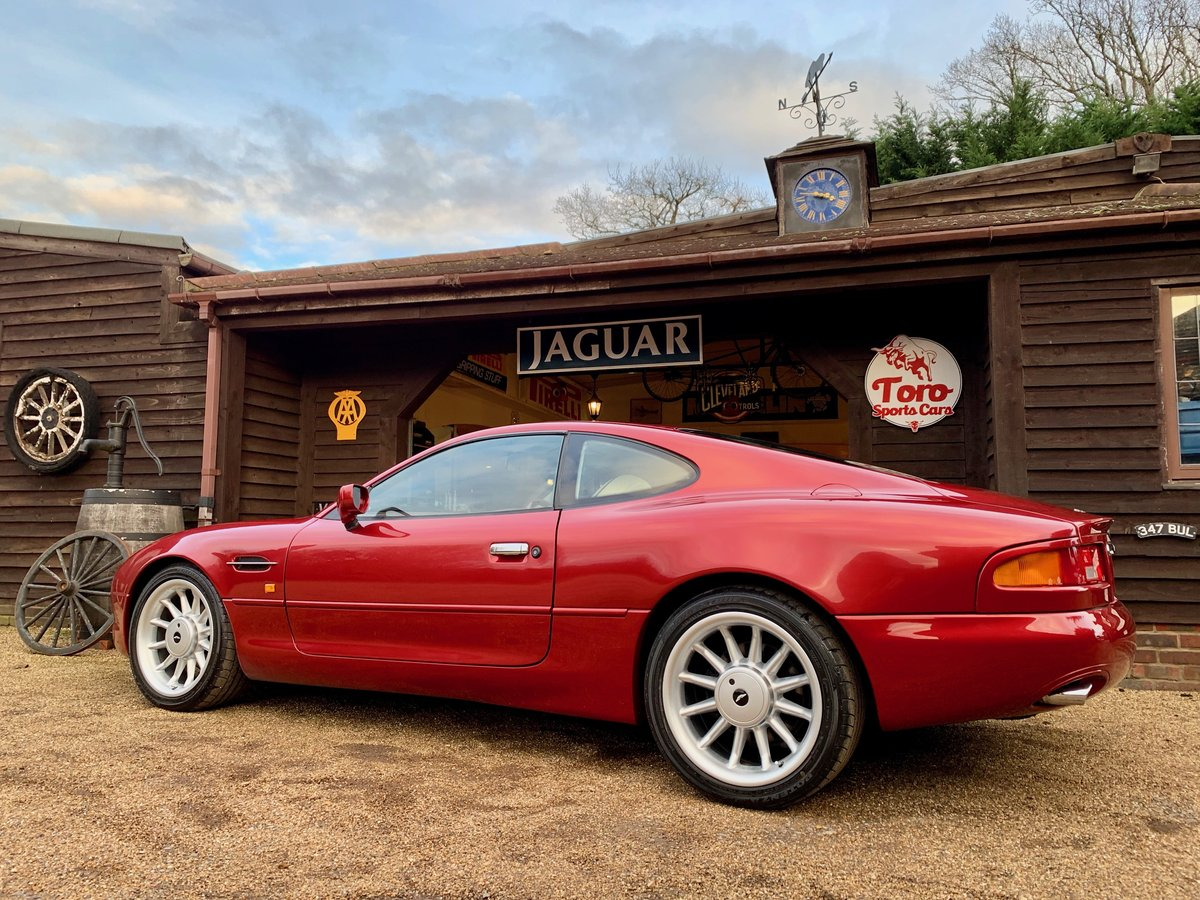 1997 ASTON MARTIN DB7 I6 COUPE (AIRBAG MODEL) SOLD (picture 2 of 6)