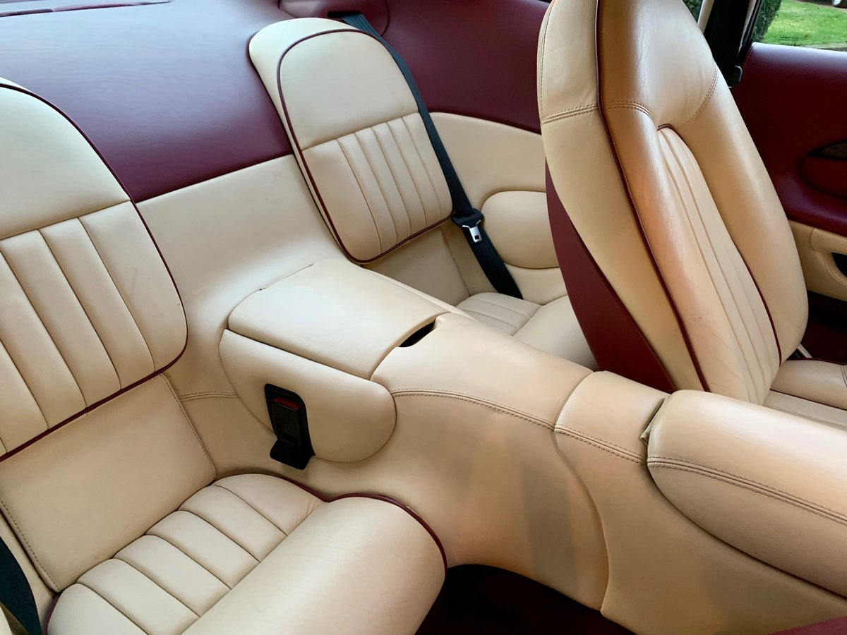 1997 ASTON MARTIN DB7 I6 COUPE (AIRBAG MODEL) SOLD (picture 4 of 6)
