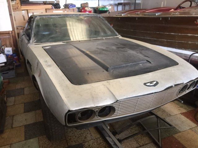 ASTON MARTIN DBS 1969 FOR RESTORATION  For Sale (picture 3 of 5)