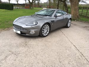 A beautiful 2002 Aston Martin Vanquish For Sale