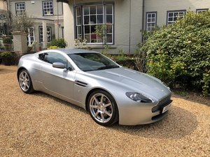 2007 V8 Vantage Coupe 6 Speed Manual For Sale