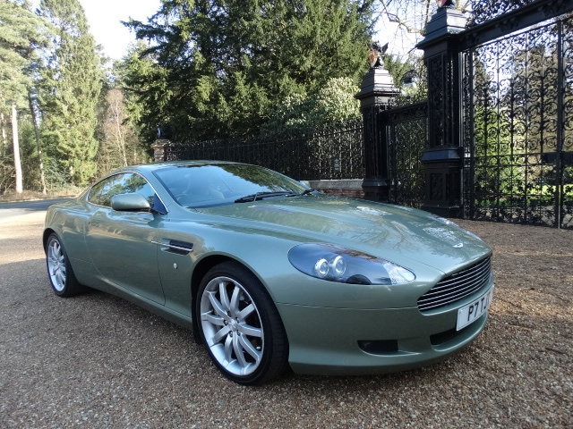 2005 Aston Martin DB9 V12 For Sale (picture 1 of 6)