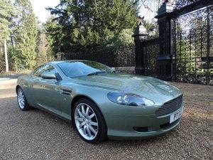 2005 Aston Martin DB9 V12 SOLD