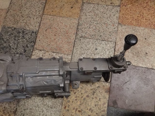 ASTON MARTIN ZF MANUAL GEARBOX TYPE 24 5 SPEED  SOLD (picture 1 of 5)