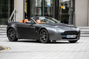2007 Aston Martin Vantage 4.3 V8 Roadster For Sale by Auction