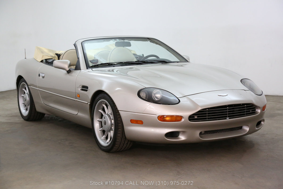 1997 Aston Martin DB7 Volante Convertible For Sale (picture 1 of 6)