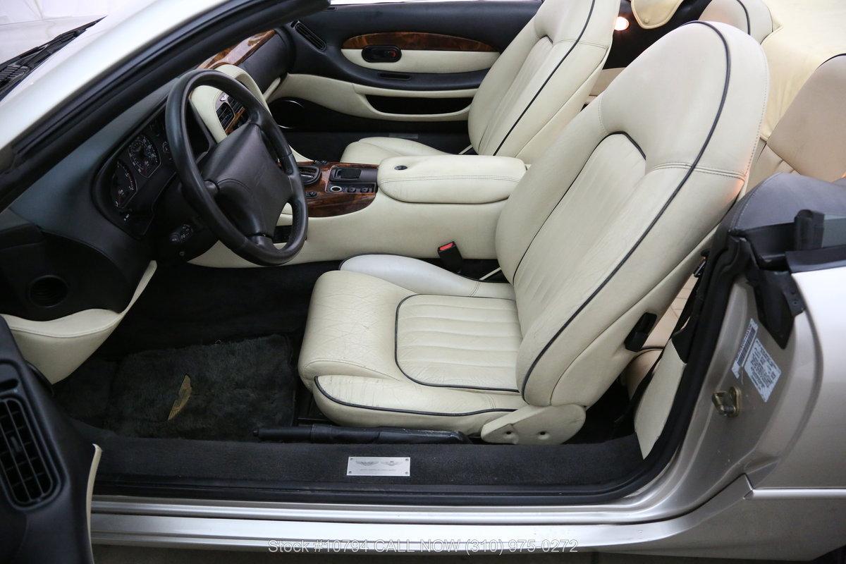 1997 Aston Martin DB7 Volante Convertible For Sale (picture 4 of 6)
