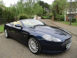2007 ASTON MARTIN DB9 VOLANTE CONVERTIBLE STUNNING FSH For Sale