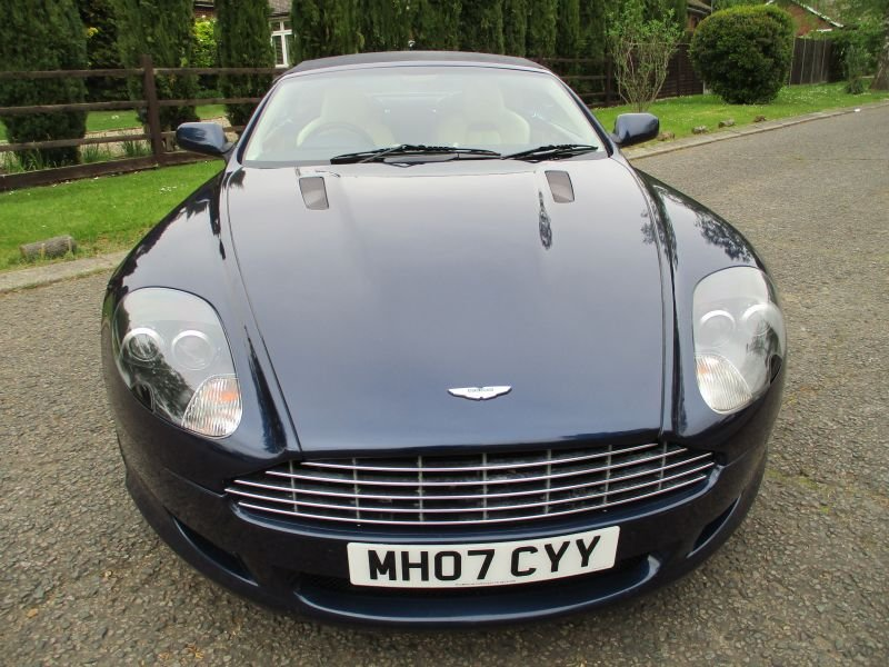 2007 ASTON MARTIN DB9 VOLANTE CONVERTIBLE STUNNING FSH For Sale (picture 7 of 12)