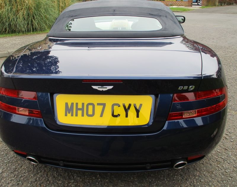 2007 ASTON MARTIN DB9 VOLANTE CONVERTIBLE STUNNING FSH For Sale (picture 8 of 12)