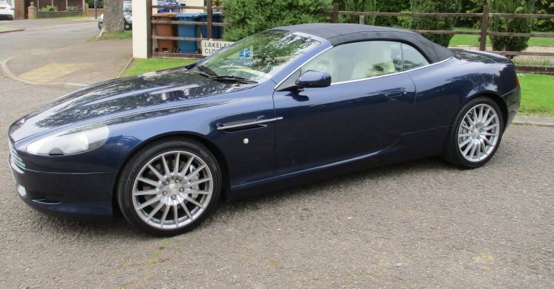 2007 ASTON MARTIN DB9 VOLANTE CONVERTIBLE STUNNING FSH For Sale (picture 9 of 12)