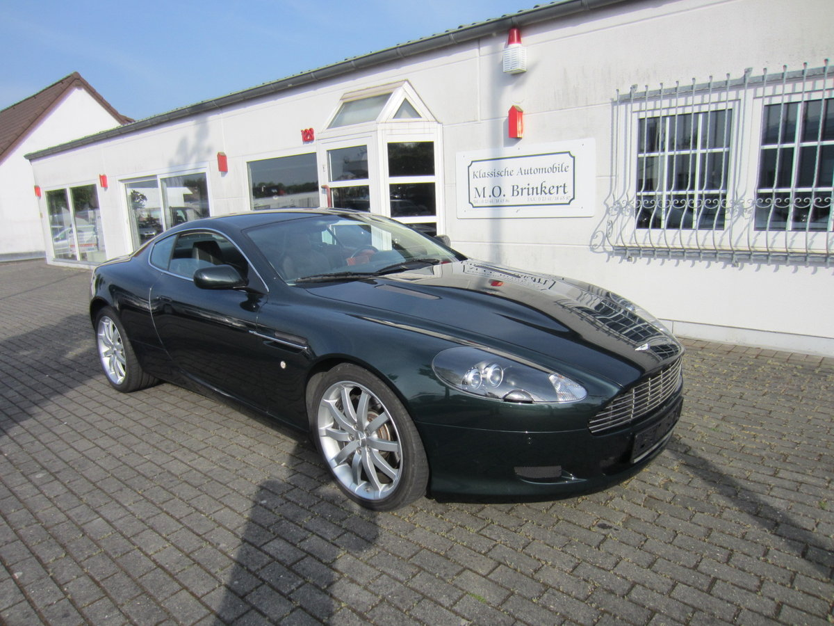 2007 LHD ASTON MARTIN DB9 in Exellent cond low miles For Sale (picture 1 of 6)