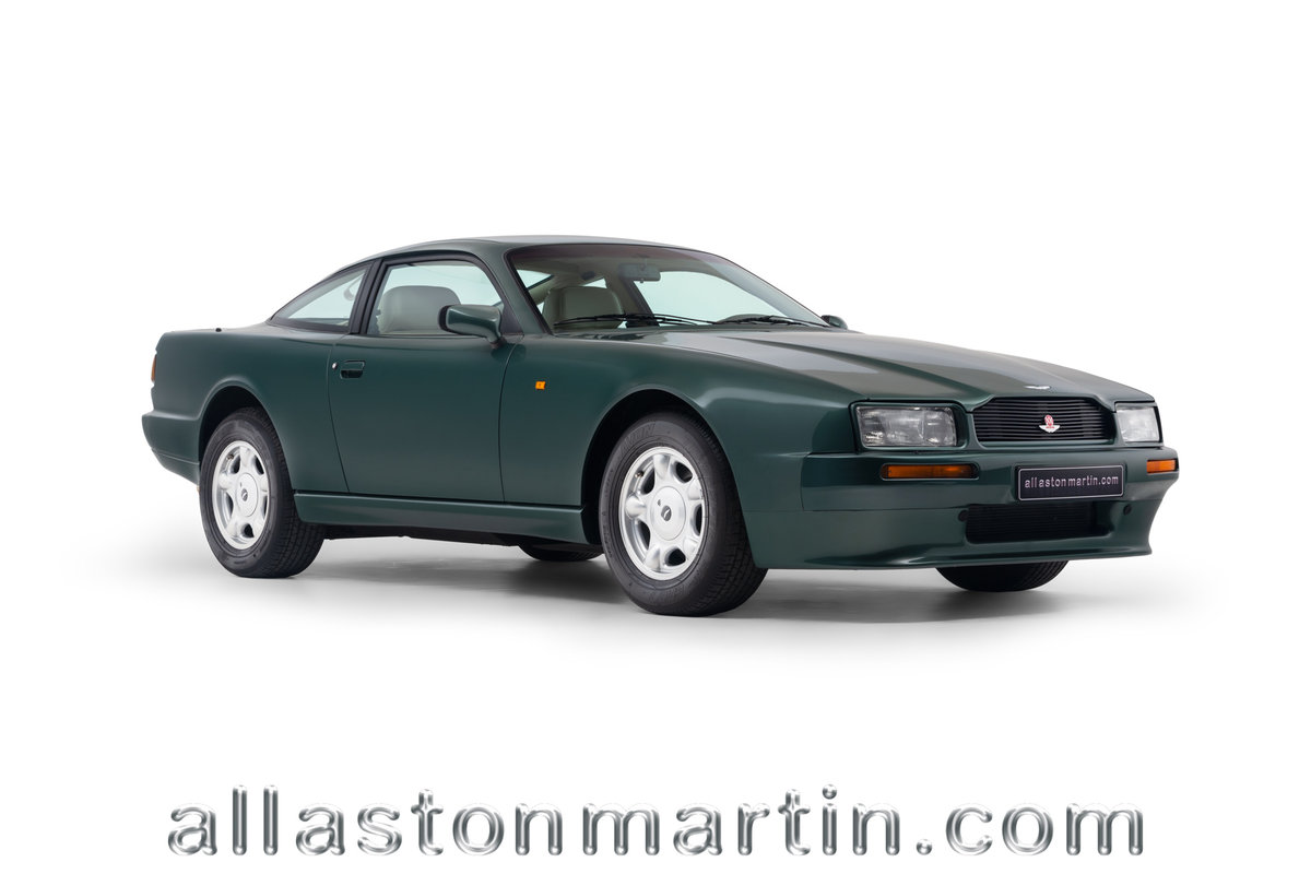1991 Exceptional Swiss Registered LHD Aston Martin Virage Auto. For Sale (picture 1 of 6)